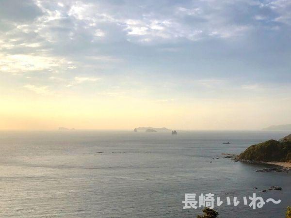 遠藤周作文学館からの眺め